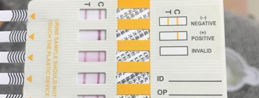 毒品检测试纸 检测吸毒的尿检板