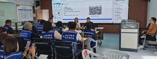 莲花镇禁毒办组织网格禁毒志愿者培训