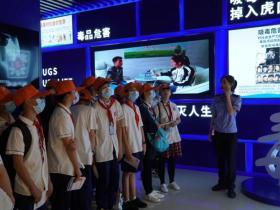 湖南省城东中学1000名师生禁毒教育实践活动