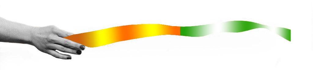 关于绿橙丝带