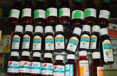 毒品咳嗽药水