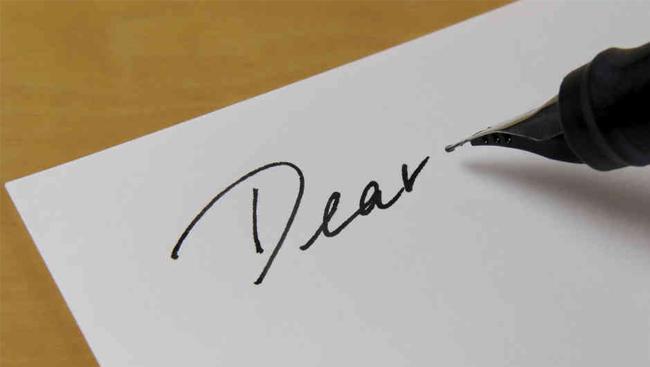 给老公的信